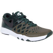 Men's Nike Green Michigan State Spartans Train Speed 4 Week Zero College Collection Shoes