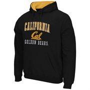 Mens Cal Bears Navy Blue Arch & Logo Mascot Pullover Hoodie