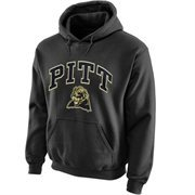 Pitt Panthers Midsize Arch Pullover Hoodie - Dark Gray