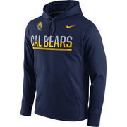 Men's Nike Navy Cal Bears Circuit Pullover Performance Hoodie