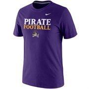 Men's Nike Purple East Carolina Pirates Practice T-Shirt