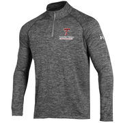 Men's Under Armour Heather Grey Texas Tech Red Raiders Quarter-Zip Performance Jacket