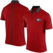 Men's Nike Red Georgia Bulldogs 2015 Coaches Sideline Dri-FIT Polo