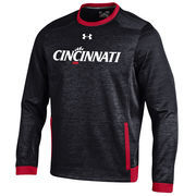 Men's Under Armour Black Cincinnati Bearcats Momentum Storm Sweatshirt