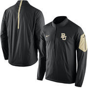 Men's Nike Black Baylor Bears 2015 Football Coaches Sideline Half-Zip Wind Jacket