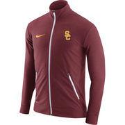Men's Nike Cardinal USC Trojans 2016 Elite Player Dri-FIT Touch Full-Zip Jacket