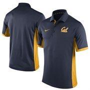 Men's Nike Navy Cal Bears Team Issue Performance Polo