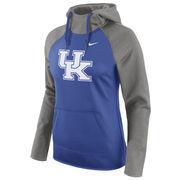 Women's Nike Royal Kentucky Wildcats Tailgate All-Time Pro Raglan Hoodie