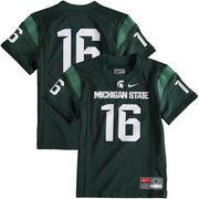 Preschool Nike Green Michigan State Spartans Replica Football Jersey