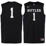 Men's Nike #1 Black Butler Bulldogs Replica Master Jersey