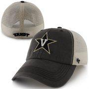 '47 Brand Vanderbilt Commodores Caprock Canyon Flex Hat - Gray/White