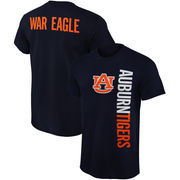 Mens Auburn Tigers Navy Blue Fusion T-Shirt