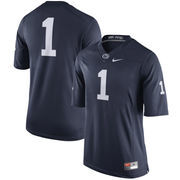 Men's Nike Navy Penn State Nittany Lions No. 1 Limited Football Jersey
