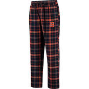 Men's Concepts Sport Navy Syracuse Orange Ultimate Flannel Pajama Pants