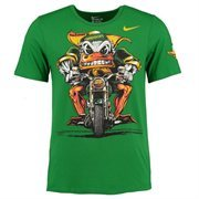 Men's Nike Green Oregon Ducks Authoritative Tri-Blend T-Shirt