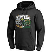 Men's Fanatics Branded Black Idaho Vandals vs. Colorado State Rams 2016 Idaho Potato Bowl Motion Matchup Pullover Hoodie