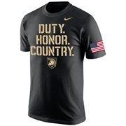 Men's Nike Black Army Black Knights 2015 Launch T-Shirt