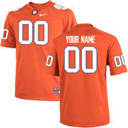 Youth Nike Orange Clemson Tigers Custom Team Color Jersey