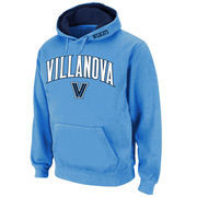 Men's Stadium Athletic Light Blue Villanova Wildcats Arch & Logo Pullover Hoodie