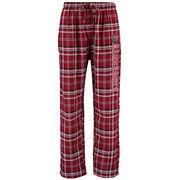 Men's Concepts Sports Garnet South Carolina Gamecocks Bleacher Flannel Pants