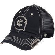 Men's '47 Navy Georgetown Hoyas Turner Clean Up Snapback Adjustable Hat