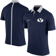 Men's Nike Navy BYU Cougars 2015 Coaches Sideline Dri-FIT Polo
