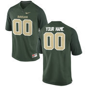 Nike Mens Baylor Bears Custom Replica Football Jersey - Green