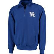 Men's Stadium Athletic Royal Kentucky Wildcats Logo Quarter-Zip Sweatshirt
