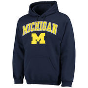Men's Fanatics Branded Navy Michigan Wolverines Campus Pullover Hoodie