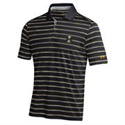 Mens Idaho Vandals Under Armour Black Trinity Performance Polo