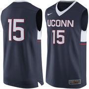 Youth Nike #15 Navy UConn Huskies Replica Basketball Jersey