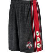 Ohio State Buckeyes Black Triumph II Space Dye Shorts