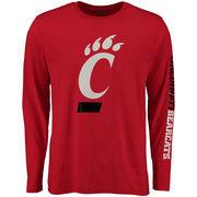 Men's Red Cincinnati Bearcats Eastwood Long Sleeve T-Shirt
