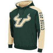 Mens South Florida Bulls Thriller II Pullover Hoodie - Green