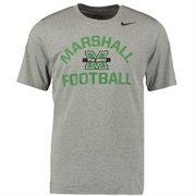 Men's Nike Gray Marshall Thundering Herd Legend Lift Performance T-Shirt