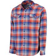 Men's Columbia Royal Florida Gators Collegiate Flare Gun Flannel Long Sleeve Button-Up Shirt