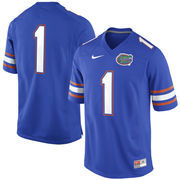 Nike Florida Gators #1 Game Football Jersey - Royal Blue