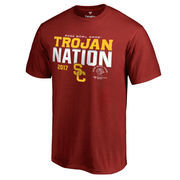 Men's Fanatics Branded Cardinal USC Trojans 2017 Rose Bowl Bound Nation T-Shirt
