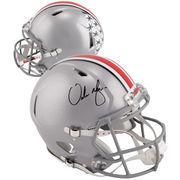 Urban Meyer Ohio State Buckeyes Autographed Riddell Speed Pro-Line Helmet