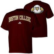 Mens adidas Maroon Boston College Eagles Relentless T-Shirt