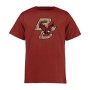 Youth Crimson Boston College Eagles Classic Primary T-Shirt