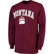 Men's Fanatics Branded Maroon Montana Grizzlies Campus Long Sleeve T-Shirt