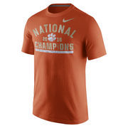 Men's Nike Orange Clemson Tigers College Football Playoff 2016 National Champions Celebration T-Shirt
