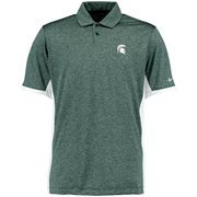 Men's Nike Green Michigan State Spartans Victory Block Performance Polo
