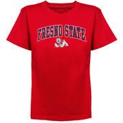 Fresno State Bulldogs Youth Arched University T-Shirt - Cardinal