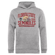 Youth Fanatics Branded Heathered Gray Florida State Seminoles 2016 Orange Bowl Bound Playbook Pullover Hoodie
