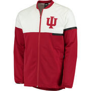Men's adidas Crimson/White Indiana Hoosiers On-Court Jacket