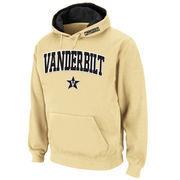 Men's Stadium Athletic Gold Vanderbilt Commodores Arch & Logo Pullover Hoodie