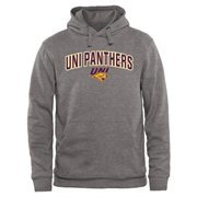 Gray Northern Iowa Panthers Proud Mascot Pullover Hoodie