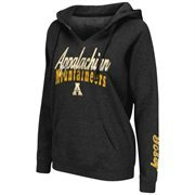 Women's Colosseum Black Appalachian State Mountaineers Cosmic Hoodie